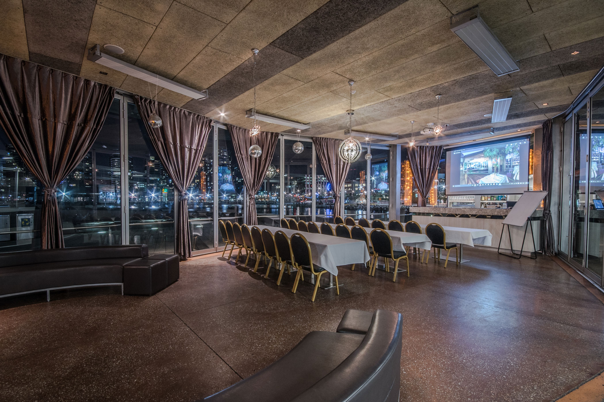 Glass Pavilion function room